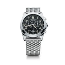 Victorinox Swiss Army Infantry chronograph dark grey dial,...