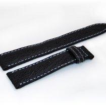 Breguet CROCO Lederband,Schwarz 19/16 mm
