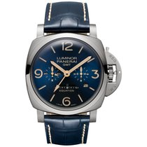 Panerai PAM 670 Luminor 1950 8 Days Equation of Time GMT...