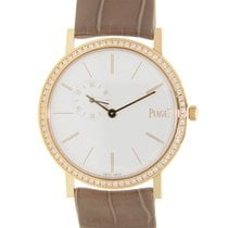 Piaget Altiplano 18 K Rose Gold With Diamonds White Manual...