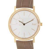 Piaget Altiplano 18 K Rose Gold With Diamonds White Manual...