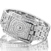 Harry Winston [NEW] Avenue C Large quartz 18K white gold on...