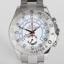 "Rolex Yacht-Master II White Gold and Platinum ""Full Set"""