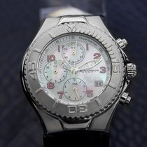 Technomarine Sport Chronograph Mens Quartz Watch Mother Of...