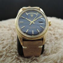 Rolex DAY-DATE 1807 (not 1803) 18K Gold with Original Blue Dial