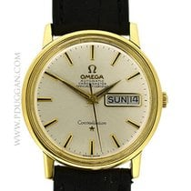 Omega 18k yellow gold Constellation