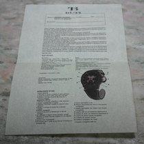 TB Buti MAGNUM sport titanio Tricompax diamod bezel paper blank