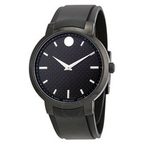 Movado Gravity Black Carbon Fiber Men's Watch