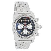 Breitling Chronomat 44 Mens Swiss Automatic Watch AB01154G/BD1...