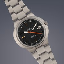 Omega Dynamic Geneve stainless steel automatic watch box,...