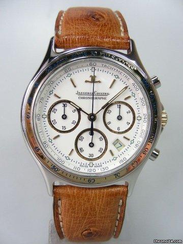 Jaeger-LeCoultre Heraion méca-quartz chronographe