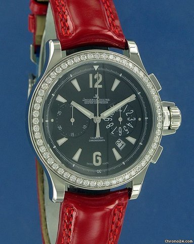 Jaeger-LeCoultre Master Compressor Chronograph Lady Diamonds !!NEW!!--ON HOLD--