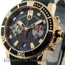 雅典 (Ulysse Nardin) Marine Diver Chronograph Rose Gold 42mm