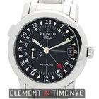 Zenith Elite Port Royal V Dual Time 38mm Reference #: 01/02.04...