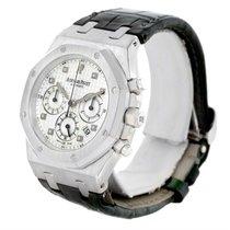 Audemars Piguet Royal Oak White Gold Chrono Watch 26022bc.oo.d...