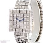 Chopard Ice-Cube Ref-106815-1001 18k White Gold Full Diamond...