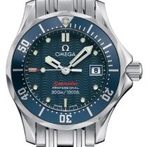 Omega Diver 300M Quartz 2224.80.00 28mm Blue Stainless Steel 2016