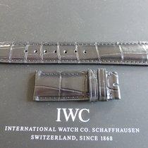 IWC 20mm blue crocodile strap bracelet for deployment buckle