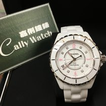 Chanel Cally - H4864 Pink Light J12 Automatic Ceramic White...