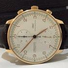 IWC Portuguese Chronograph Ouro Rosé Automatico 2013 Im...