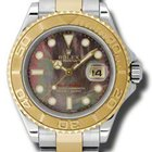 Rolex Yacht-Master Mens Steel and Gold 16623 dkmop