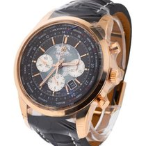 Breitling Transocean Chronograph Unitime Automatic in Rose Gold