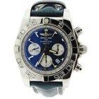 Breitling Chronomat 44 Blue Dial Stainless Steel