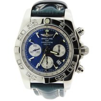 Breitling Chronomat 44 Blue Dial Stainless Steel