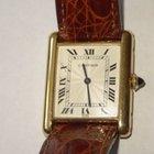Cartier Tank Louis 18K Gold Watch Roman Dial w Box &...