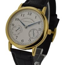 A. Lange & Söhne 1815 Up and Down Mens Manual in Yellow Gold