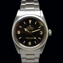 Rolex Explorer 1016 Glossy Gilt Box & Papers