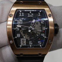 Richard Mille RM 005 in rose gold with black rubber strap