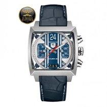 TAG Heuer - Monaco 24 McQueen watch BLUE