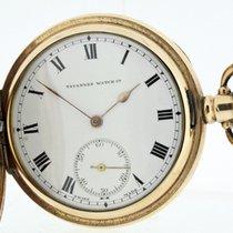 Tavannes Pocket Watch 10K Gold Plated working (1068)