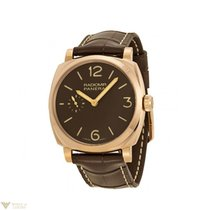 Panerai Radiomir 1940 18k Rose Gold Leather Men's Watch