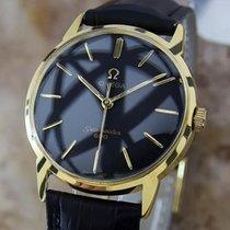 Omega Seamaster 600 Vintage 1960s Manual Wind Gold Plated Mens...