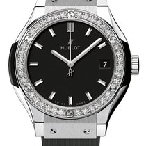 Hublot 581.nx.1171.rx.1104 Classic Fusion Quartz 33mm Diamonds...