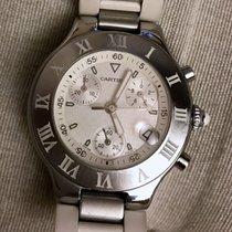 Cartier Chronoscaph 21 – Ref.: 2424 – Men's watch