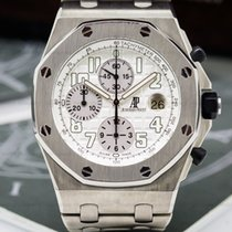 Audemars Piguet 25721TI.OO.1000TI.05 Royal Oak Offshore Silver...