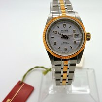 Tudor Automatic Round  25mm Glamour Date 92413-62433 Stainless...