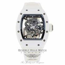 Richard Mille Bubba Watson RM055 All White RM055 Ti-ATZ