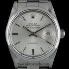 Rolex Stainless Steel O/Perpetual Silver Dial Air-King Date 5700N