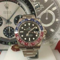 Rolex Gmt master II white gold 116719BLRO