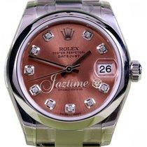 Rolex Custom Diamond Dial for Datejust 178240 31mm Ladies...