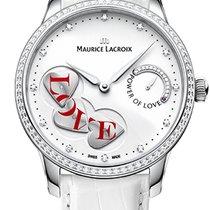 Maurice Lacroix Masterpiece Power Of Love Ladies White, Diamonds