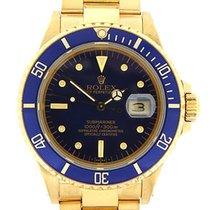 Rolex vintage 1986 18k yellow gold Submariner