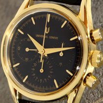 Universal Genève Chronograph Compax 1950 in 18k gold case