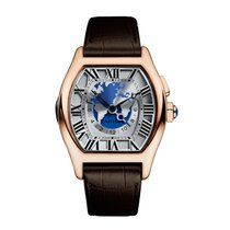 Cartier Tortue Automatic Mens Watch Ref W1580049