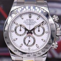 Rolex Oyster Perpetual Daytona Ss White Ref : 116520 (mint)