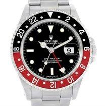 Rolex Gmt Master Red Black Coke Bezel Automatic Mens Watch 16700